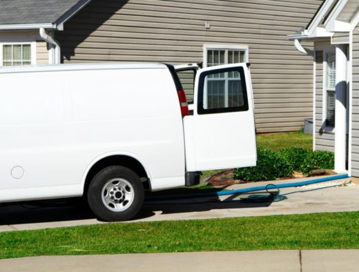 Cleaning Service Van by Carpet Cleaning Parramatta